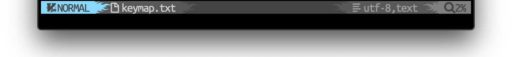 separatorを設定したお洒落なステータスライン