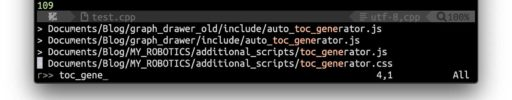 ctrlpによるファイルの高速検索